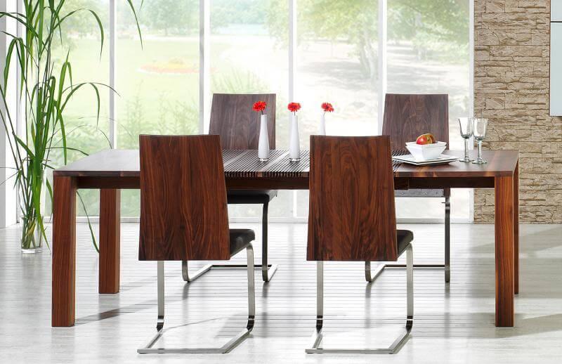 Lignum stufenlos ausziehbarer Tisch